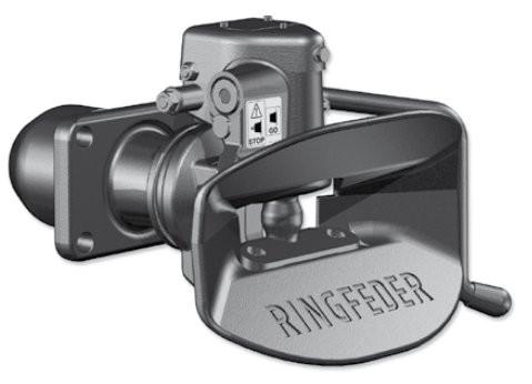 4040/G145 A 40 mm Anhängekupplung 140 x 80 mm Handhebel aufwärts