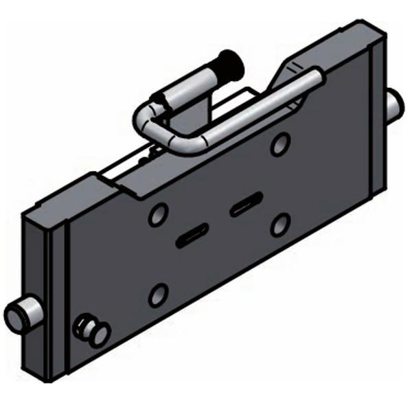 LB0BE04 Kupplungsträger 140x80mm