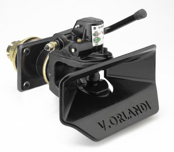 GE406A1 40mm Anhängekupplung inkl. Fernanzeige 160x100mm (Handh. aufw.)