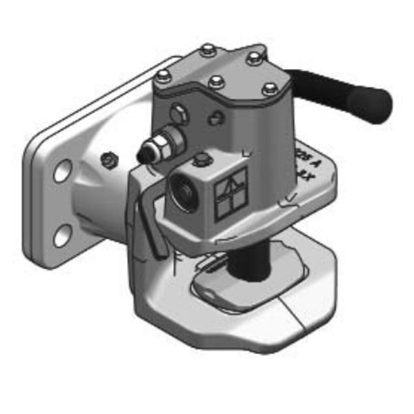 IH31B4 40mm Anhängekupplung 140x80mm