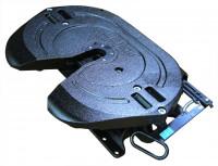 JSK 42 K0 Sattelkupplung Bauhöhe 185mm Standard Schmierung 2 Zoll