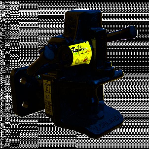 AH310B4 40 mm Anhängekupplung 140 mm x 80 mm