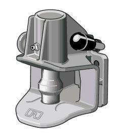 RO 243, 40mm Anhängekupplung 120x55mm