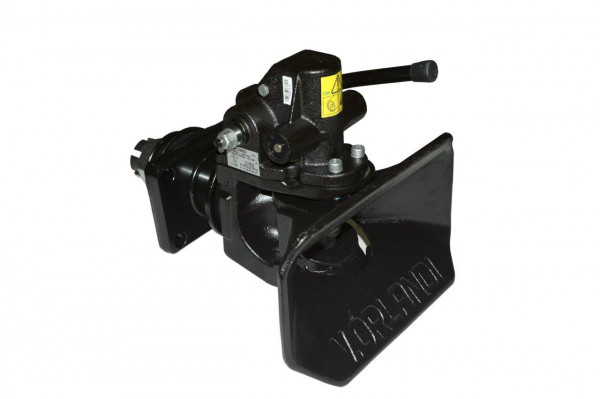 E525A0M 50 mm Anhängekupplung 160 x 100 mm Handhebel aufwärts