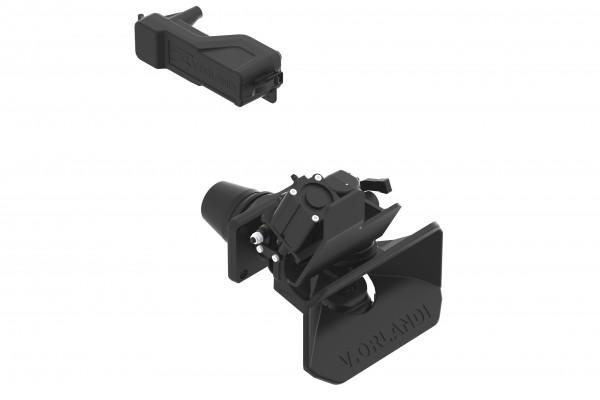 E525A9M 50mm Anhängekupplung, 160x100mm (Handh. aufw.) inkl. Fernanzeige/Lampe/Pneumatische Fernbedienung (Default)