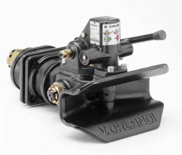 EH453A0 45 mm Anhängekupplung 120 mm x 55 mm Handhebel aufwärts