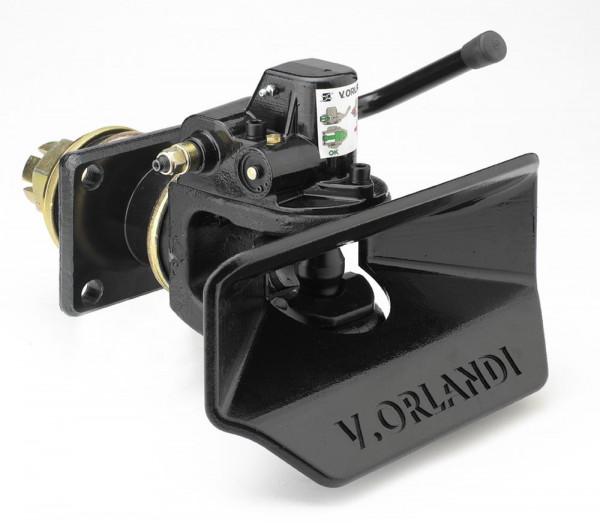 GE404A1 40mm Anhängekupplung, 140x80mm (Handh. aufw.) inkl. Fernanzeige/Lampe