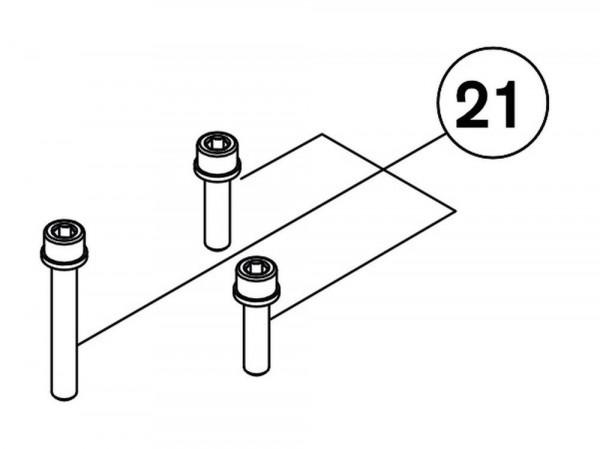 RG00312 Schraubensatz für Automatikeinheit