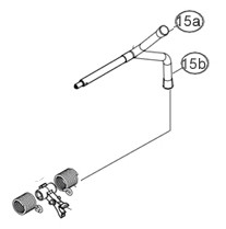14991262 Hand-/Sperrhebel Kombination Ausf. B