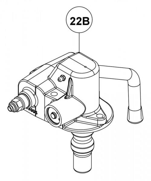 RG00177 Automatikeinheit Handhebel-Abwärts