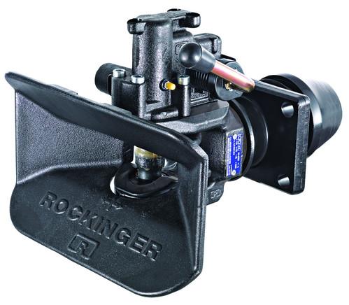 RO 400 40 mm Anhängekupplung 120 x 55 mm Handhebel abwärts