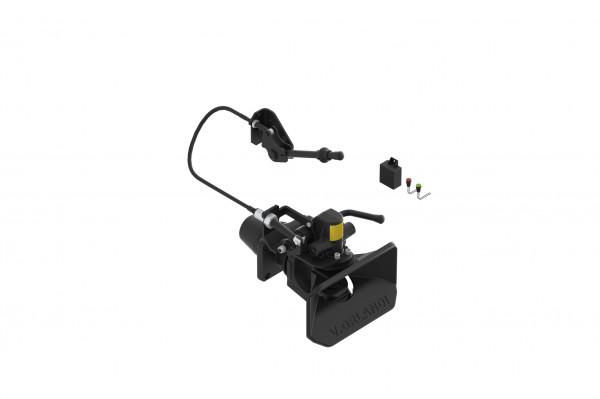 E525A2M 50mm Anhängekupplung, 160x100mm (Handh. aufw.) inkl. Fernanzeige/Lampe/Mechanische Fernbedienung (Default)